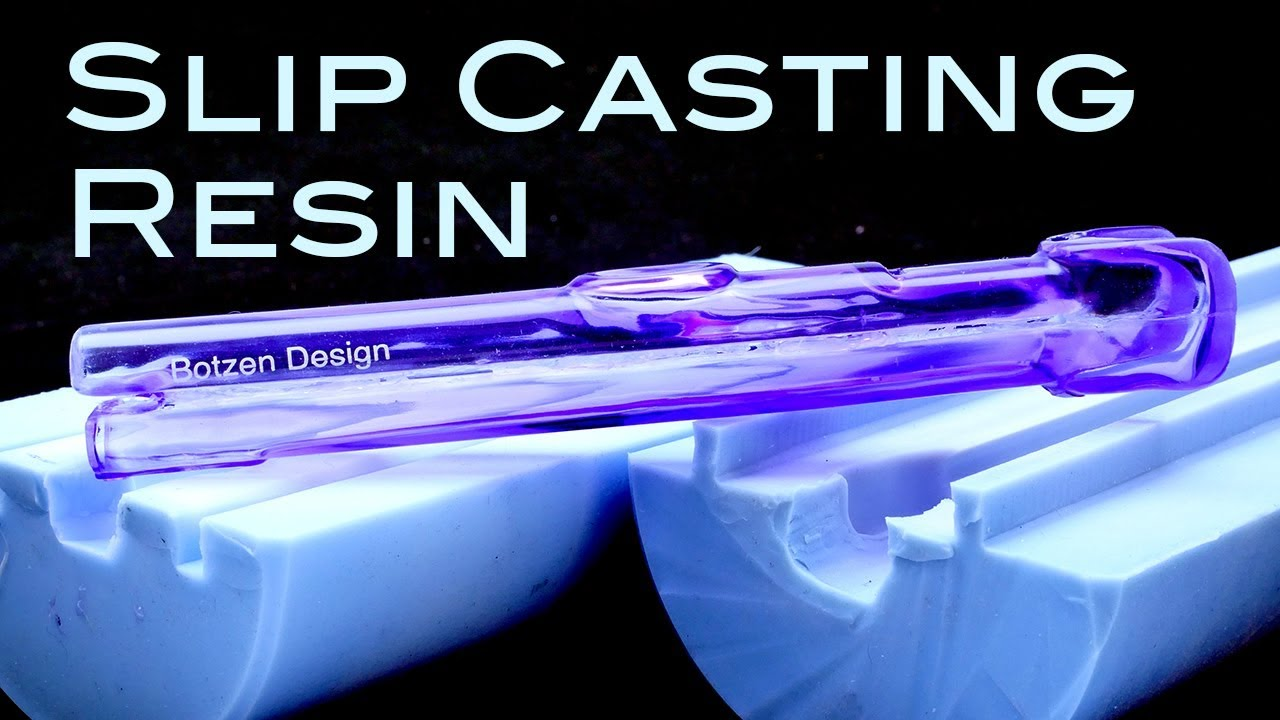 How to Slip Cast Urethane Resin, to Simulate Blow-Molded