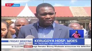 Doctors and other health workers withdrawn from the sick Kerugoya hospital