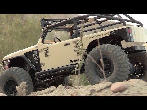 Jeep Wrangler Custom >> Axial SCX10™ Jeep® Wrangler G6™ 4WD Kit AX90034 - YouTube
