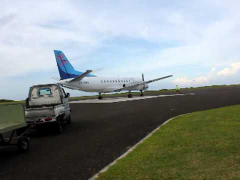 Cook islands, Aitutaki airport