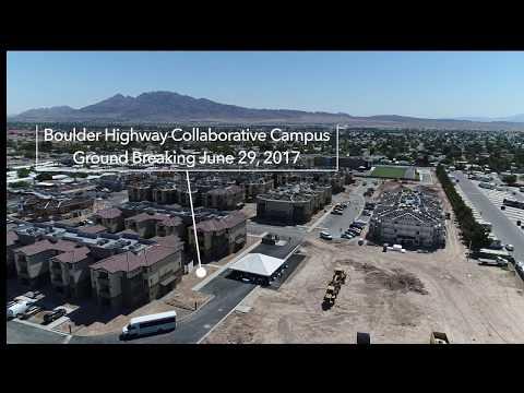 Boulder Highway Collaborative Campus ground breaking presented by Nevada Hand