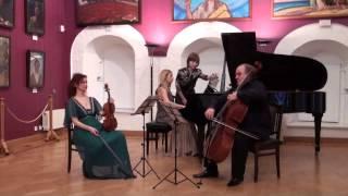 D.Schostakovich Trio op 8. Basinia Shulman piano, Yulia Berinskaia violin, Alexey Seleznev cello