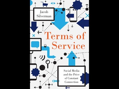 "ASIS&T presents Jacob Silverman, ""Terms of Service"""