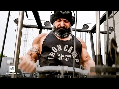 How IFBB Pro Guy Cisternino Trains Biceps & Triceps