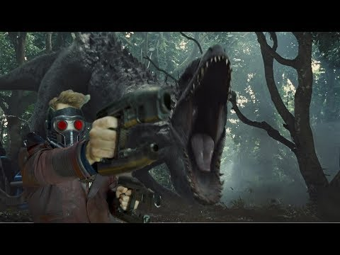 Jurassic World Opening Guardians of the galaxy 2 style