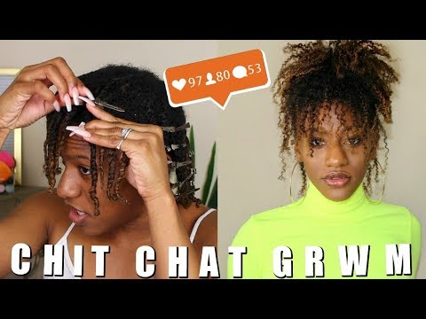 NATURAL HAIR TRANSFORMATION: A Long Talk About Struggling With Self Image & REAL LIFE.