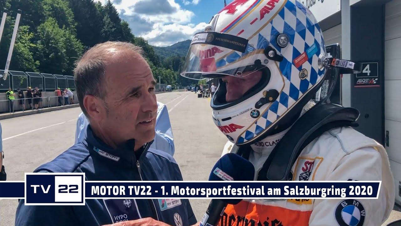 MOTOR TV22: Leopold Prinz von Bayern beim 1. Motorsportfestival am Salzburgring