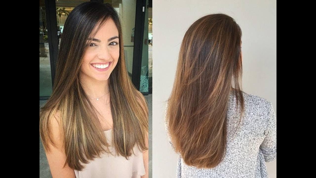 Brazilian Balayage On Straight Hair