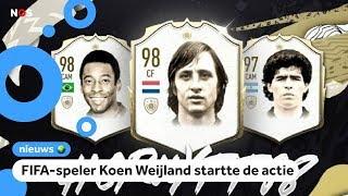 Handtekeningenactie voor hogere FIFA-score Johan Cruijff