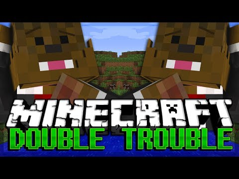 #WOOFEROME Minecraft Double Trouble Minigame w/ Woofless
