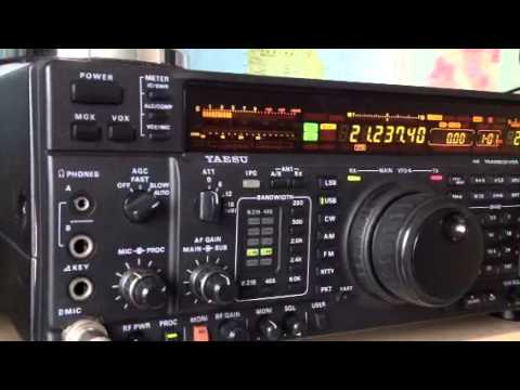 W8UN Californian amateur station Yaesu FT-1000MP