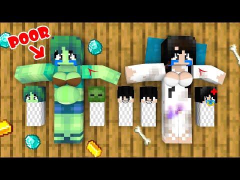 Monster School : Season 4 All Episode - Sad Story - Minecraft Animation