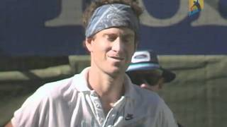 John McEnroe Is Disqualified | Australian Open 1990
