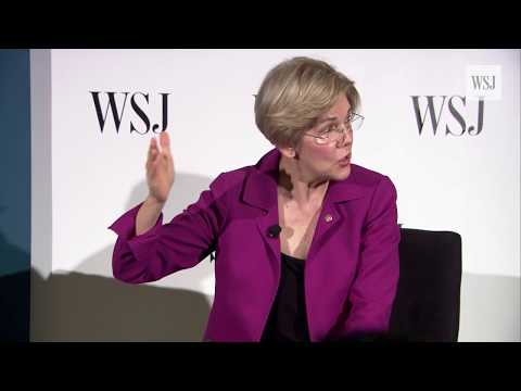 Senator Elizabeth Warren Answers Questions at WSJ Conference