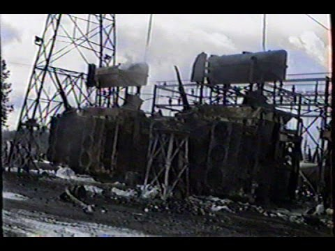 Footage from the Aftermath of the 1990 Custer Substation Fire