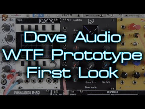 Dove Audio - WTF Prototype (first look at a new way to work with waveforms)