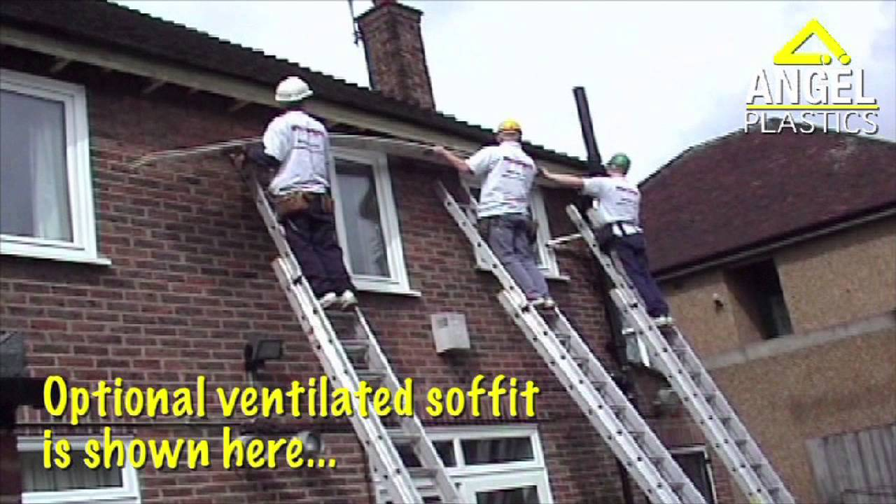 How To Fit Fascias Amp Soffits Using Pre Treated Timber