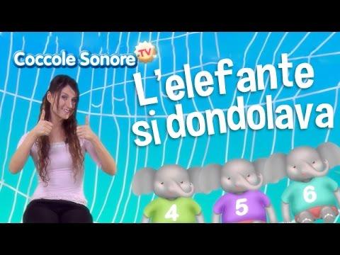 L'elefante si dondolava - Balliamo con Greta - Canzoni per bambini di Coccole Sonore