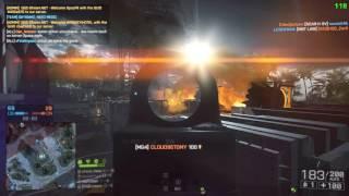 Battlefield 4 | PC | Gameplay w/ MG4 on Paracel Storm | 37-2