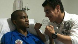 Emotivo encuentro de boxeador con rival que dejó en coma