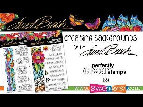 Creating Laurel Burch Backgrounds