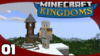Minecraft Single-Player Survival - Ep. 1: Welcome to Kingdoms!