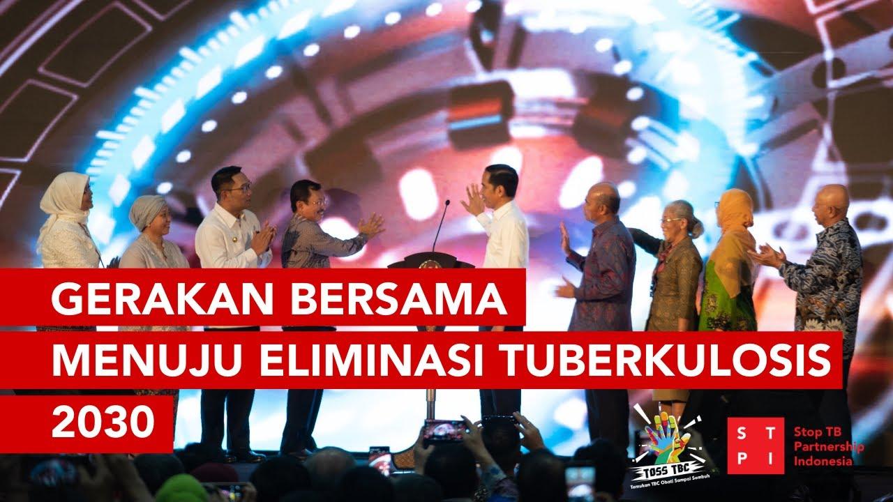 Gerakan Bersama Menuju Eliminasi TBC 2030 - Kunjungan Kerja Presiden Jokowi
