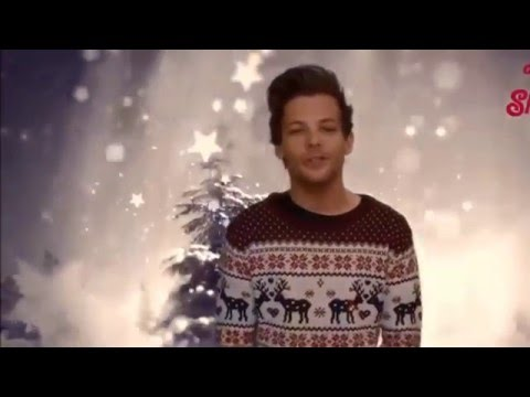 One Direction and Christmas Text Santa