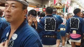 小山 令和元年 両社祭 神輿渡御 小山五丁目 2019/9/1 Kosugi Ryoushasai Mikoshi Festival 57