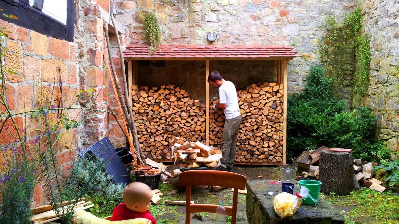Holz stapeln youtube - Kaminholz stapeln wohnzimmer ...