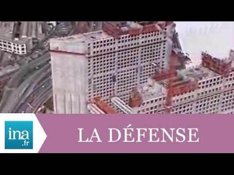 La Grande Arche de la Défense en travaux - Archive INA
