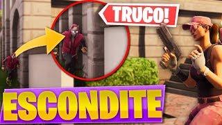 JUGANDO AL ESCONDITE EN EL NUEVO *PATIO DE JUEGOS* de FORTNITE: Battle Royale!