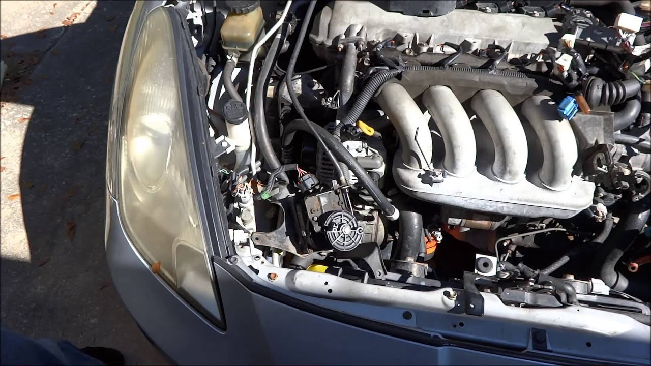 2005 Toyota Rav4 Engine Diagram 7th Gen 2000 2005 Celica Motor Remove Pt 1 Youtube