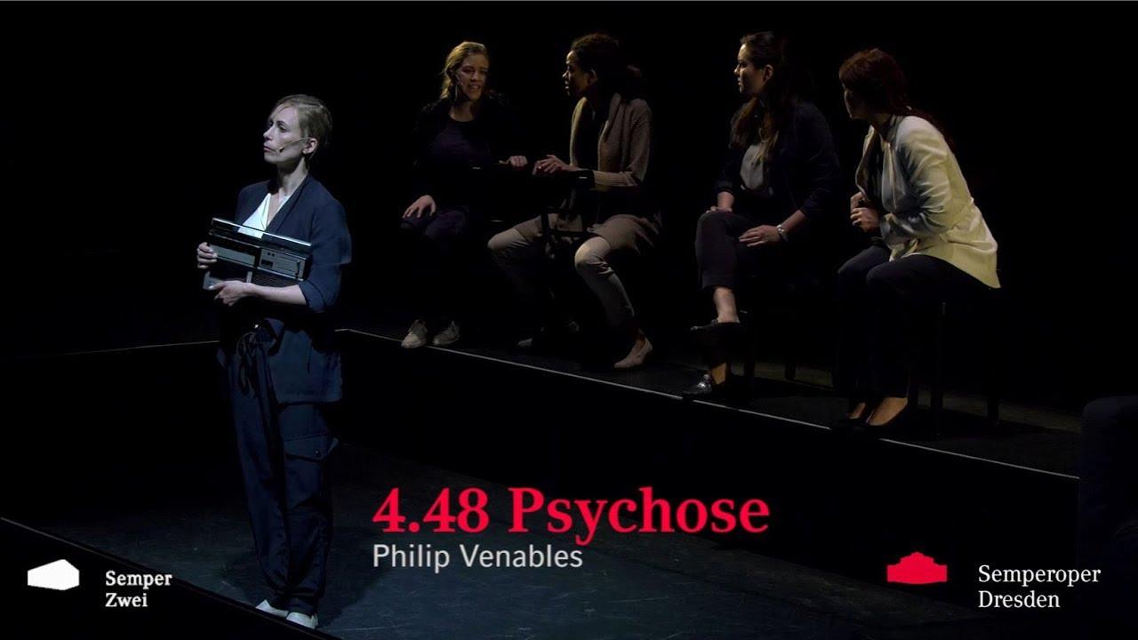 TRAILER Philip Venables »4.48 Psychose« // Semperoper Dresden