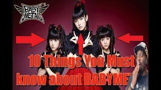 BABYMETAL: 10 Things You Need To Know We have a babymetal 10 things...