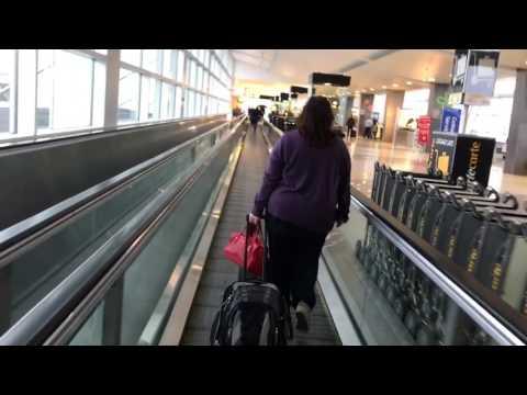 Airpot SEATAC A Gates walk thru