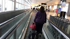 Airpot SEATAC A Gates walk thru
