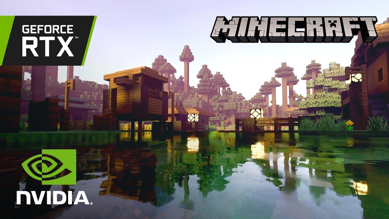 Minecraft With NVIDIA RTX  Creators Ray Tracing Showcase