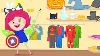Çizgi film. Smarta'nın sihirli çantası - Kostüm partisi.