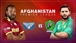 APLT20 2018 M12: Balkh Legends v Paktia Panthers Live Stream, Afghanistan Premier League T20