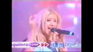 Christina Aguilera - What A Girl Wants Live at In Korea SBS 1999