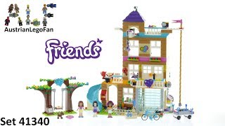 Lego Friends 41340 Friendship House - Lego Speed Build Review