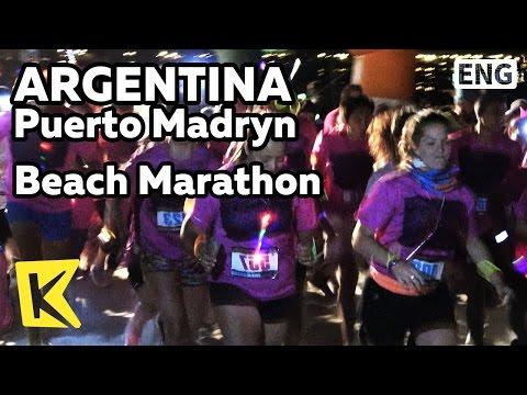 【K】Argentina Travel-Puerto Madryn[아르헨티나 여행-푸에르토 마드린]해변 마라톤/Beach/Marathon/Festival/Dance