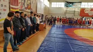 Награждение Кандидатов в Мастера Спорта по вольной борьбе Астраханская область