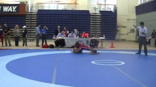 2014 Ontario Junior Championships: 55 kg Armann Neemuchwala vs. Sam Jagas