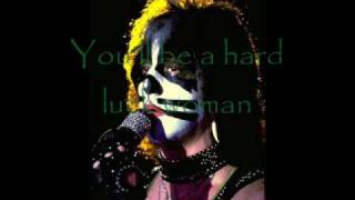 KISS Hard Luck Woman - Lyrics