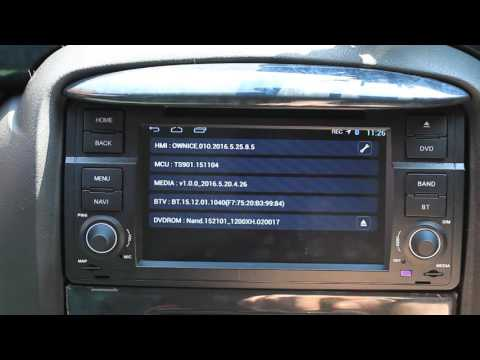 Navall Star Head Unit Stereo Settings and Freeview TV