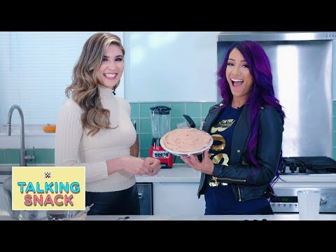 The one thing left on Sasha Banks' bucket list: Talking Snack