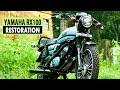 Yamaha Rx 100  |  Full Restoration  |  1994 Model  |  By Prasanth Violet