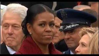 Trump Vereidigung - Michelle Obama Reaktionen - Bill Clinton checkt Ivanka ab HD